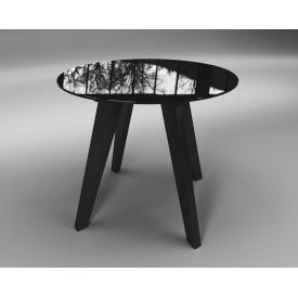 Обеденный стол Леонардо Sentenzo 760х900 мм темный