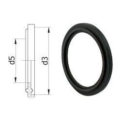 EPDM ущільнення для CLAMP з'єднання Lateya 20 мм