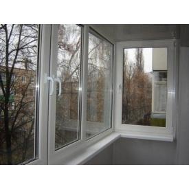 Металопластикове скління балкона