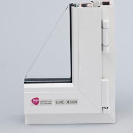 Металлопластиковое окно REHAU Euro-Design 60