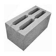 Бетонный блок Ореол-1 стеновой усиленный 390x190x188 мм