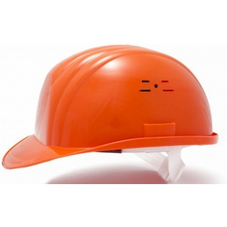 Каска будівельна помаранчева РК-0002