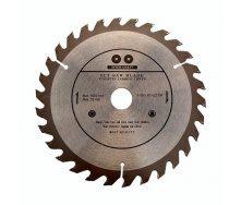 Диск для циркулярної пили по дереву 125x22,2 мм 40 зуб INTER-CRAFT