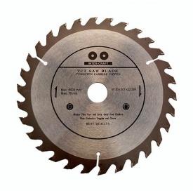 Диск для пилы циркулярной по дереву 125x22,2 мм 40 зуб INTER-CRAFT