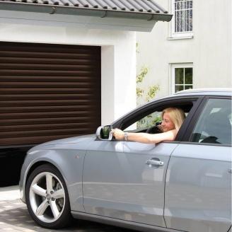 Роллетные ворота ALUTECH Trend 2400х2200 мм коричневый