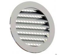 Приточно-вытяжная решетка 4VENT металлическая 150х175х175х15 мм серая