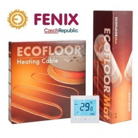 Электрический теплый пол Fenix 18 Вт/м