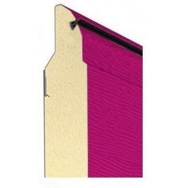 Сэндвич-панель Alutech для гаражных ворот серии Trend 40 мм