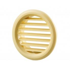 Припливно-витяжна решітка Вентс МВ 50 бвс пластикова 47х47х16,5 мм бежева