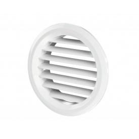 Припливно-витяжна решітка Вентс МВ 50 бвс пластикова 47х47х16,5 мм біла