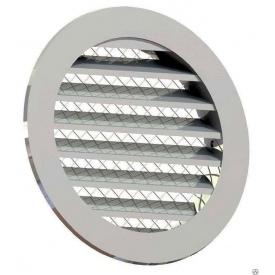 Приточно-вытяжная решетка 4VENT металлическая 100х125х125х15 мм серая