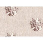 Шпалери вінілові на флізелін 1,06x10,05 ДХН МАРКО ДЕКОР 1 438