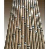 Наличник дверной деревяный 70х10 мм с декоративным тиснением Бамбук