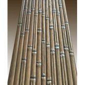 Декоративное тиснение узора Бамбук на вагонку из ели