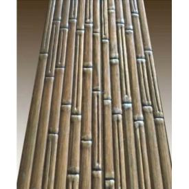 Декоративне тиснення візерунка Бамбук на вагонку з сосни
