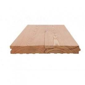 Дошка підлоги з модрини 27х142х3000 мм Сорт АВ
