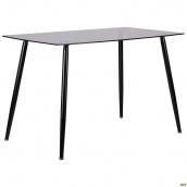 Стол обеденный АМФ Умберто стекло тонированное 1200х700х760 мм металл-серый