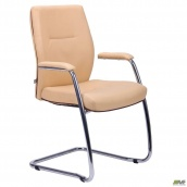 Конференц-кресло AMF Элеганс CF хром 930х590х600 мм Неаполь-01