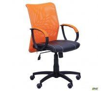 Офісне крісло AMF-8 Лайт Net LB Софт 880-950х570х650 мм сітка помаранчева