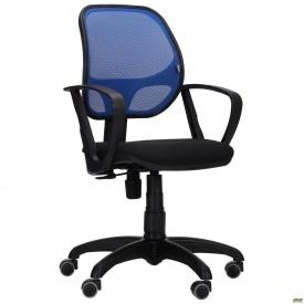 Крісло AMF Біт АМФ-7 сидіння А-1 спинка сітка 660x660x1010 мм синій
