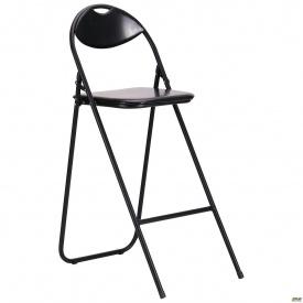 Барний стілець AMF Джокер Хокер 1100х400х660 мм чорний