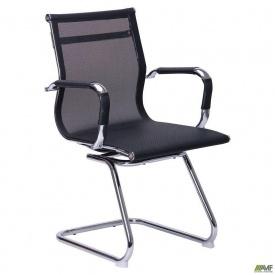 Стул-кресло АМФ Slim Net-CF - Solano 3 mesh black 920х560х580 мм XH-633C