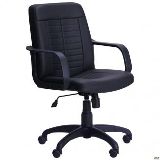 Офісне крісло AMF Нота пластик 650x650x1170 мм чорне