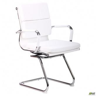 Конференц-крісло Slim FX CF XH-630C -Solano office artleather white білий