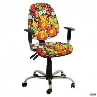 Кресло Бридж хром Украина №7 650x650x1090 мм