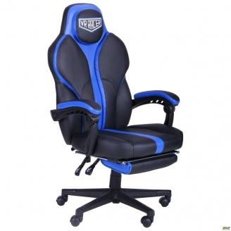 Кресло АМФ VR Racer Edge Titan черный синий