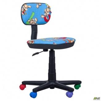 Кресло детское Бамбо Цифры 590x590x920 мм синий