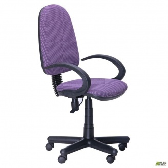 Офісне крісло AMF Сатурн 650x650x1070 мм FS/АМФ-5 Поінт-76 бузковий
