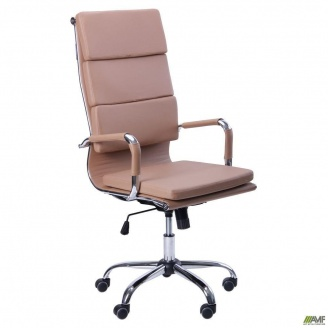 Офісне крісло AMF Slim FX HB-XH-630A - Solano-2-artleather beige бежеве