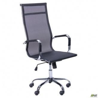 Крісло AMF Slim Net HB XH-633 чорний