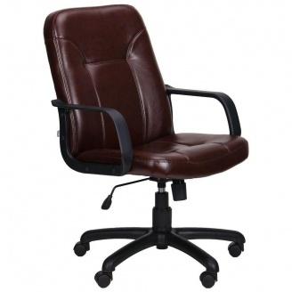 Кресло AMF Смарт Пластик Мадрас 630x480x1010 мм дарк браун