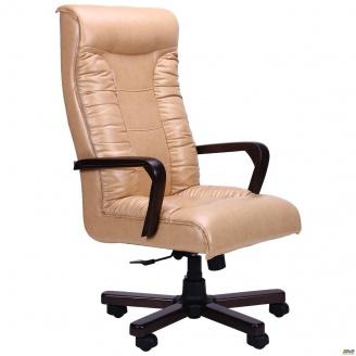 Кресло AMF Кинг Флеш ANYFIX орех Мадрас 640x740x1210 мм голд беж