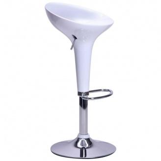 Барный стул AMF Lily белый