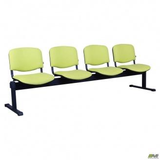 Скамейка-стулья AMF Изо-4 Алюм 2390x830x600 мм