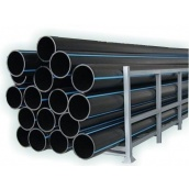 Труба полиэтиленовая водопроводная Полипласт ПЭ SDR 23 500х23,9 мм 100 м