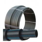 Труба полиэтиленовая техническая Полипласт ПЭ 75х3,6 мм 100 м