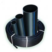 Труба полиэтиленовая водопроводная Полипласт SDR 17 16х1,6 мм 100 м