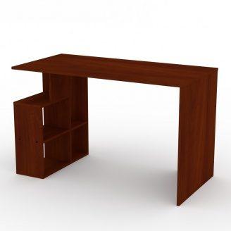Письмовий стіл Компаніт Учень-3 ДСП 1200х738х600 мм яблуня