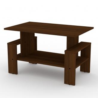 Журнальный столик Компанит Венера ДСП 800х500х497 мм орех-эко