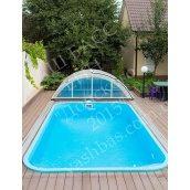 Прямокутний басейн з поліпропілену 5х3х1,7 м
