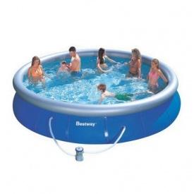 Надувний басейн Bestway 57294 457х107 см з картриджних фільтрів