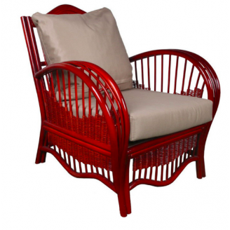 Плетенное кресло Нью-Йорк ЧФЛИ из ротанга 800х800х910 мм