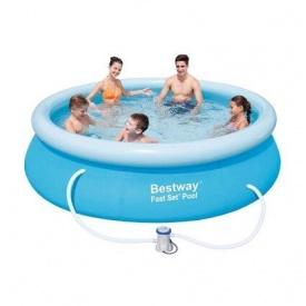 Надувний басейн Bestway 57270/57109 305х76 см з картриджних фільтрів