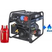 Двохпаливний генератор Hyundai HHY 7020FE-T LPG