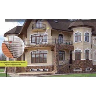 Вентильований фасад з декоративного каменю Роял Арт Декор