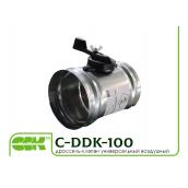 Дроссель-клапан вентиляційний C-DKK-100